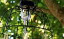 Easy DIY Solar Light Chandelier