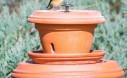 How To Make A Pedestal Bird Feeder Out Of A Terracotta Flower Pot