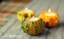 Ornamental Gourds Make Beautiful Fall Candles
