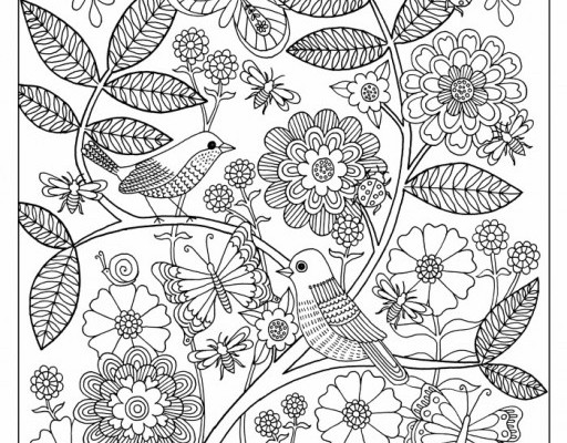 free grown up coloring pages to feed your addiction