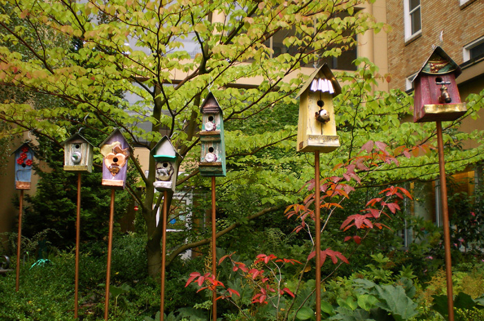 Legacy Emanuel Children's Garden Birdhouses