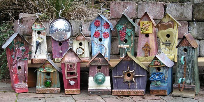 To Make You Smile Birdhouses and lots of other ways to organically control pests in your garden