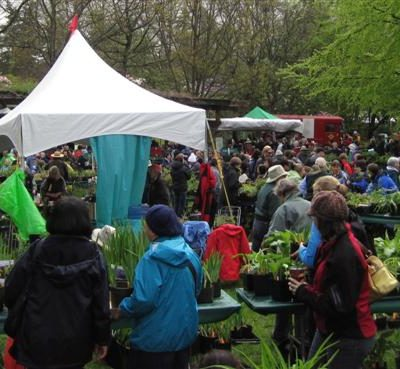 Today is the Annual VanDusen Plant Sale