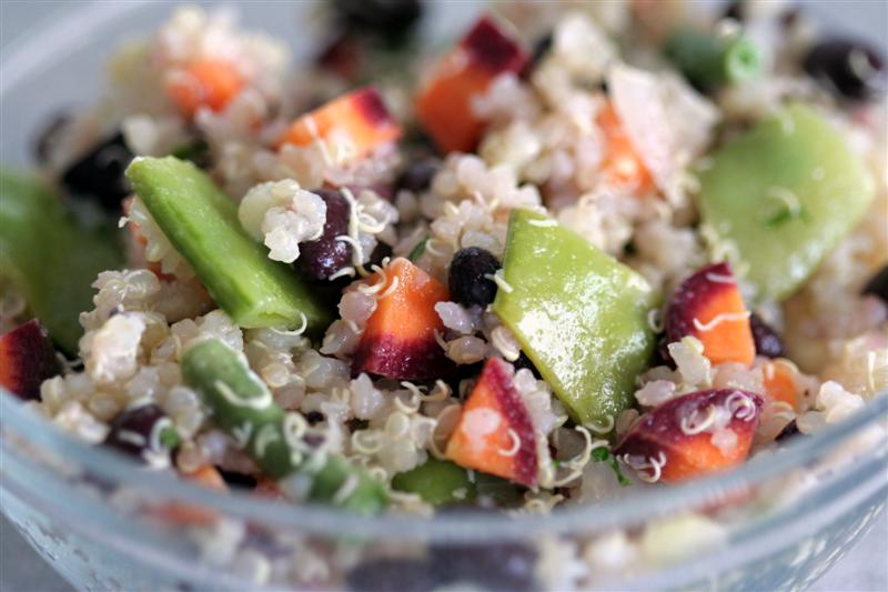 Black Bean Quinoa Salad Medium