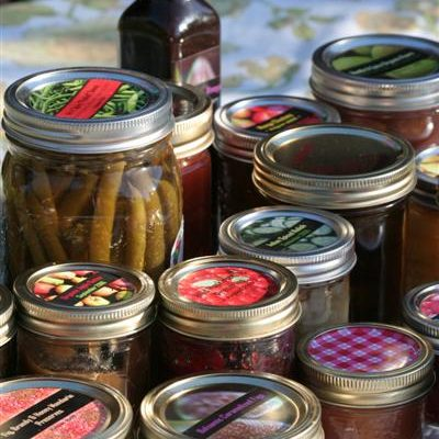 Homemade Canning Labels for Jam, Pickles and More