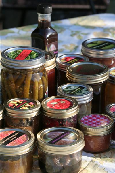 Bounty Of Canning Jars