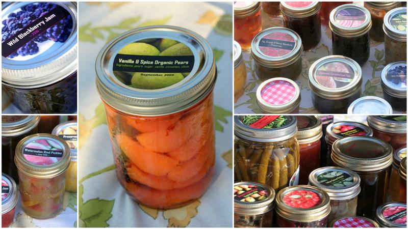 Homemade canning labels for jam pickles and more garden for Chutney label templates