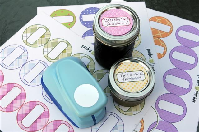 Printable Canning Labels to Dress Up Your Jam