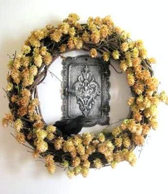 Weekend Project: Halloween Hop Wreath