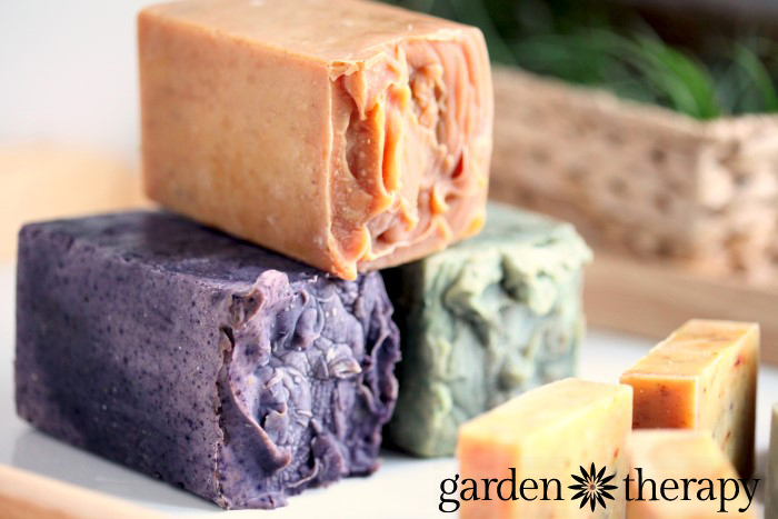 Use milk cartons as soap molds and you from How to Make All-Natural Cold Process Soap