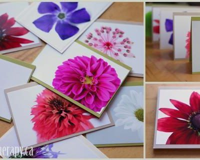 Win a Set of Six Studio Blooms Art Cards