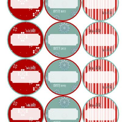 Last Minute Holiday Gifts and Printable Gift Tags