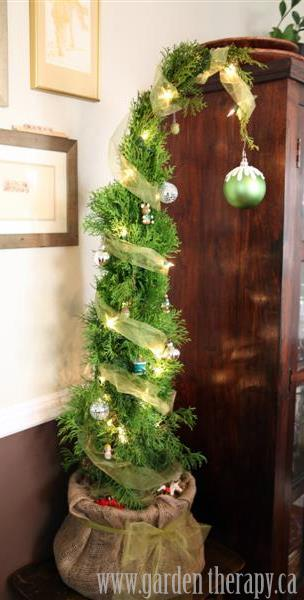 The Magic of the Grinch Christmas Tree - Garden Therapy