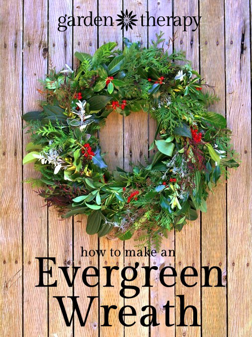 How to make a fresh wreath
