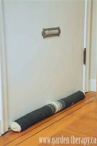 Door Draft Sock and mail slot filler
