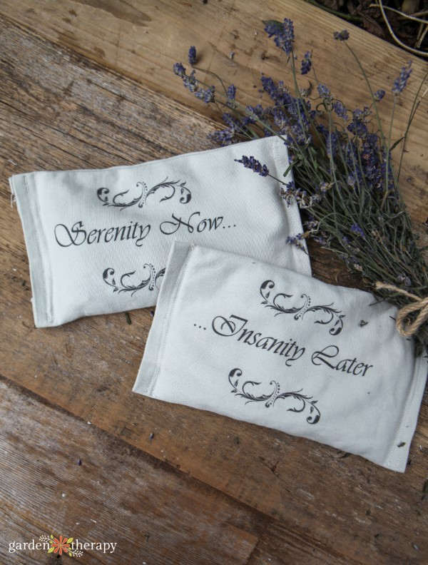 homemade lavender eye pillows