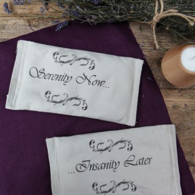 Serenity Now! Encouraging Deep Relaxation with Homemade Lavender Eye Pillows