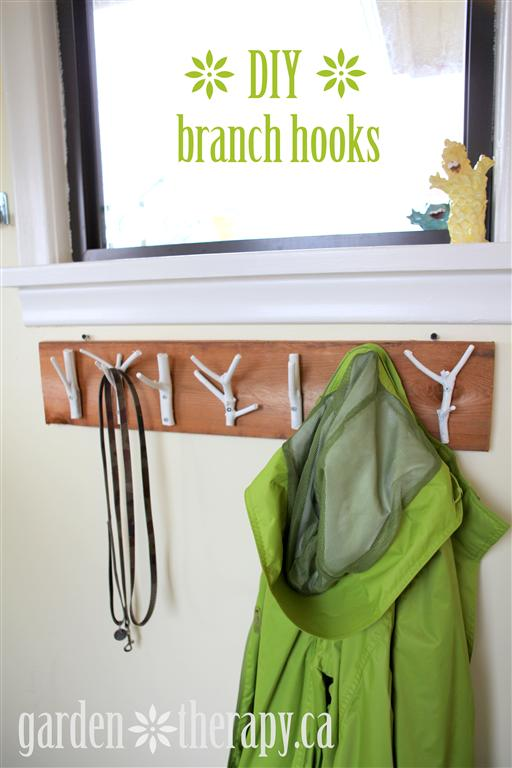 DIY Branch Hooks Tutorial