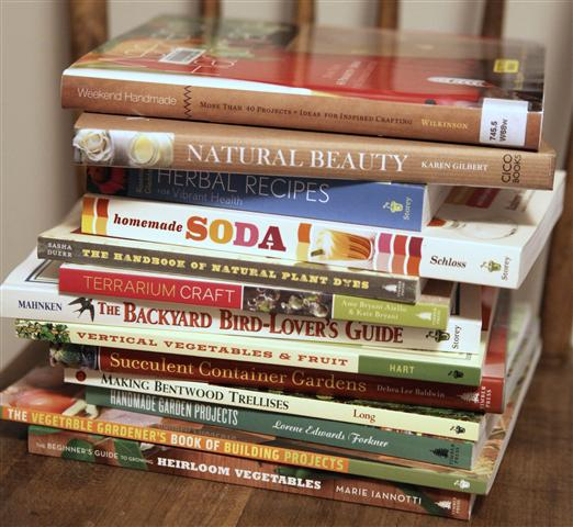 Gardening Inspired Craft Books For Book Club Small