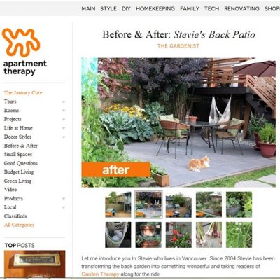 Backyard Patio Project: Before and After…and After