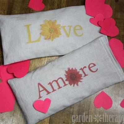 Valentine's Lavender Eye Pillows Printable