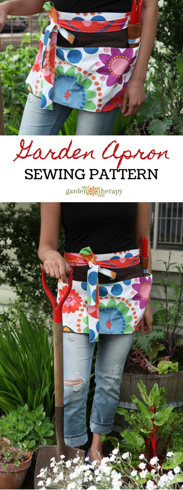 Make a fun and functional garden apron
