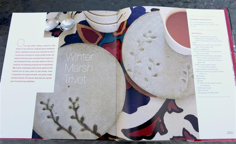 Weekend Handmade Winter Marsh Trivet Small