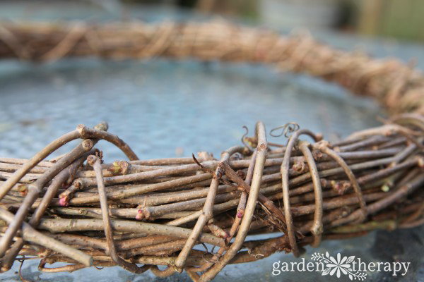 DIY Bentwood Grapevine Wreath