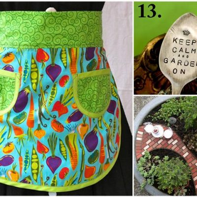 21 Handmade Mother's Day Gift Ideas for Garden-Loving Moms