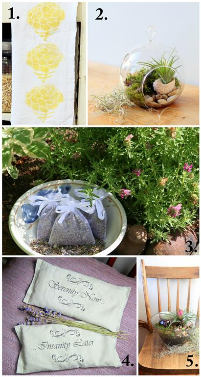 Handmade Mother's Day Gifts Ideas for Garden Loving Moms