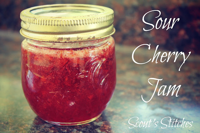 Cherry Jam Sour Cherry Jam Recipe