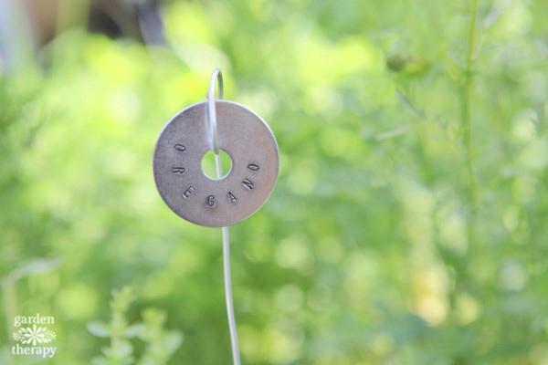 Metal Stamped Plant Tags