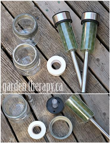 Mason Jar Solar Light DIY Materials