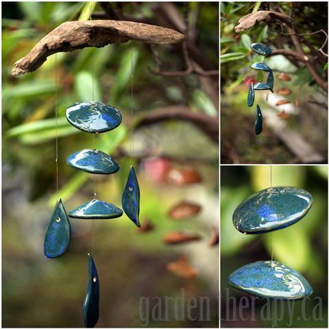 elegant wind chime for the garden