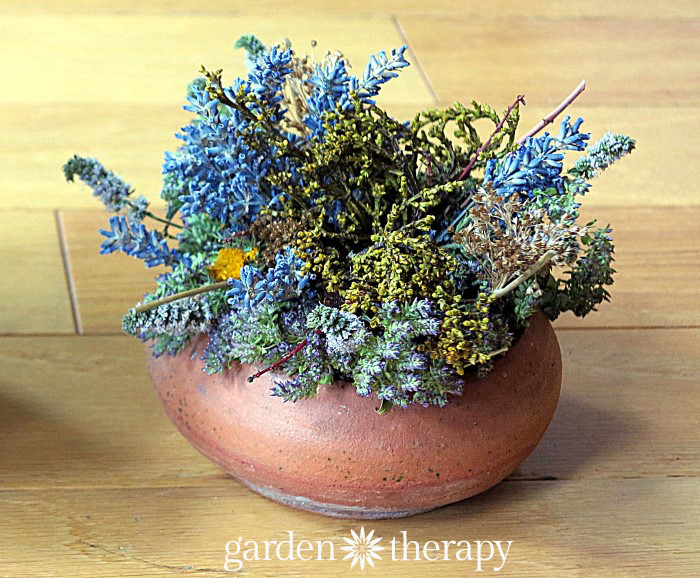 dried oregano and oregon grape