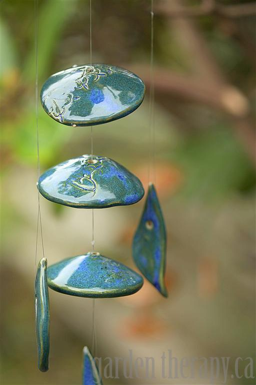 pottery windchime