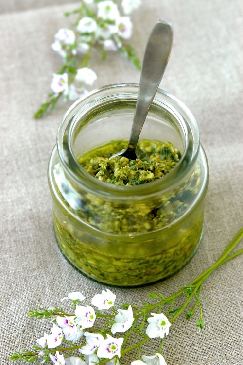 walnut-pesto recipe