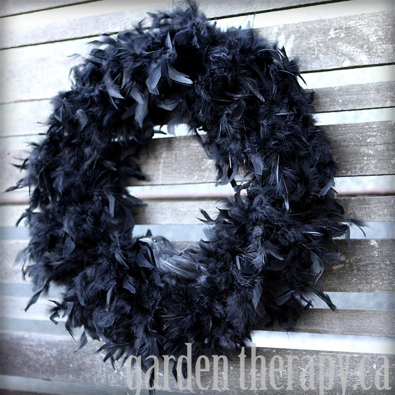 Crow Feather Wreath