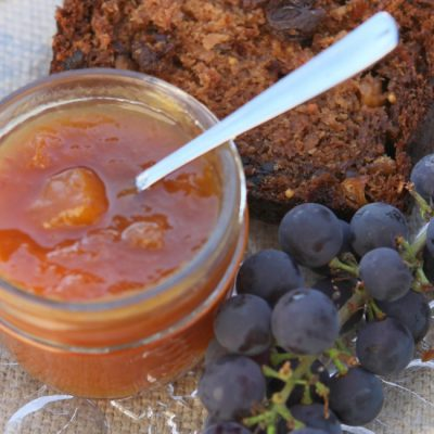 Warm Up to Fall with this Spiced Peach Brandy Preserves Recipe