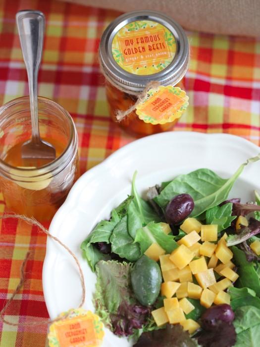 Pickled Golden Beets Recipe