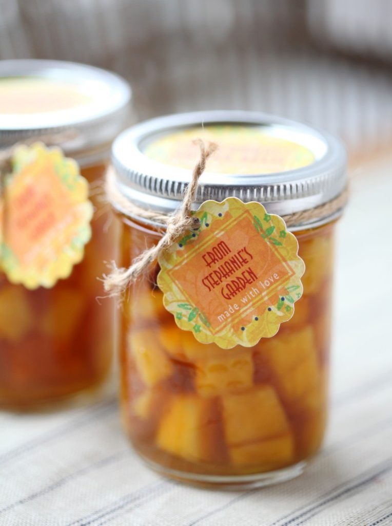 Pickled Golden Beets with ginger and star anise
