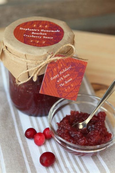 Bourbon Cranberry Sauce Recipe