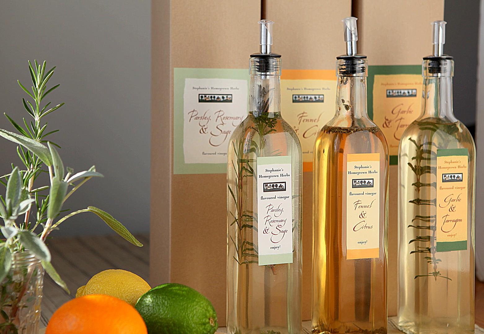 Herb Infused Vinegars