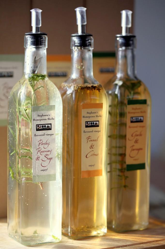 Homemade Herb Infused Vinegar