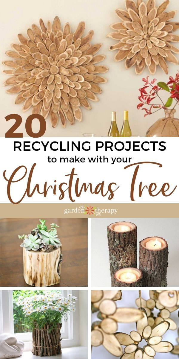 ideas for recycling christmas tree