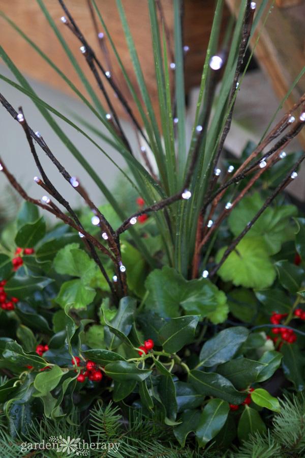 Christmas Holiday Planter