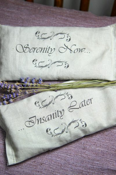 Last Minute Holiday Gifts Countdown Day 5: Lavender Eye Pillows