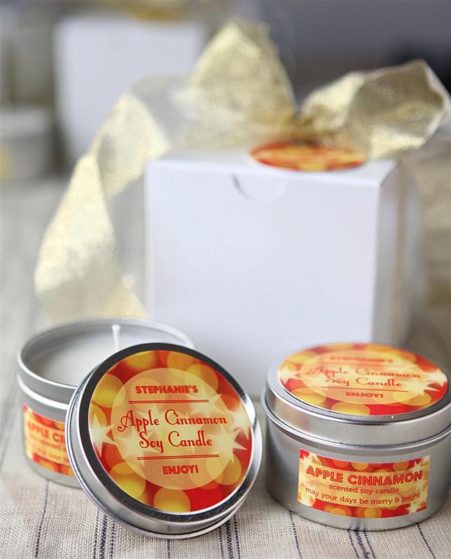 Apple Cinnamon Soy Candles