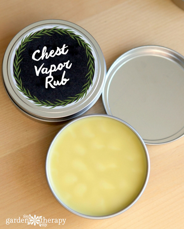 All-natural Chest Vapor Rub Recipe