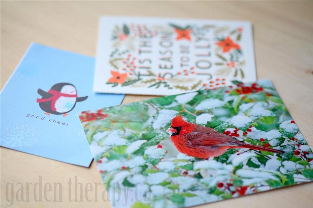Recycling cards into gift tags garden therapy recycle old christmas cards into new gift tags m4hsunfo